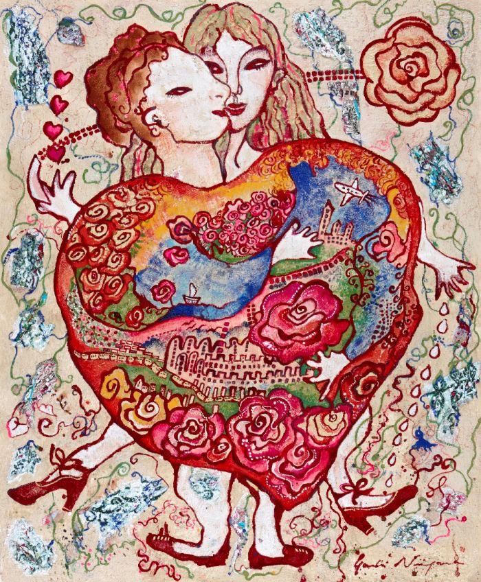 蜷川有紀 絵画展 薔薇のおもちゃ箱 | 展覧会情報 | ギャラリー | Bunkamura
