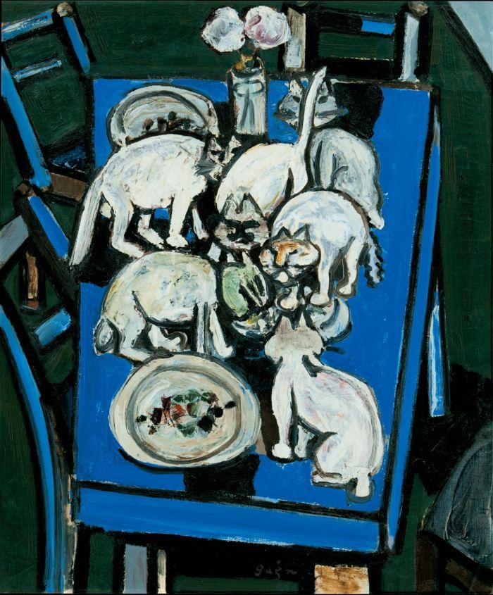 猪熊弦一郎展 猫たち | ザ・ミュージアム | Bunkamura
